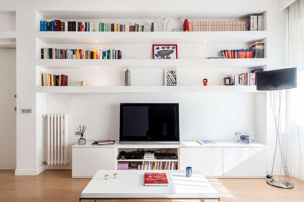 Idee arredamento casa interior design homify for Parete attrezzata design moderno