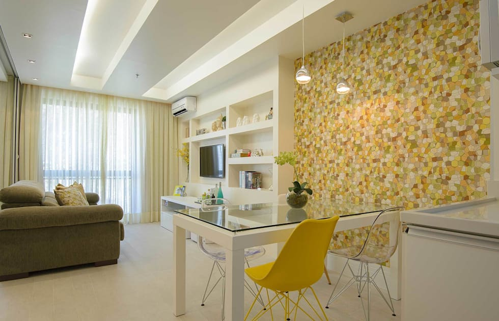 Sala de Jantar Integrada: Salas de jantar modernas por fpr Studio