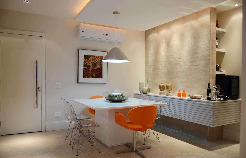 Sala de Jantar: Salas de jantar modernas por fpr Studio