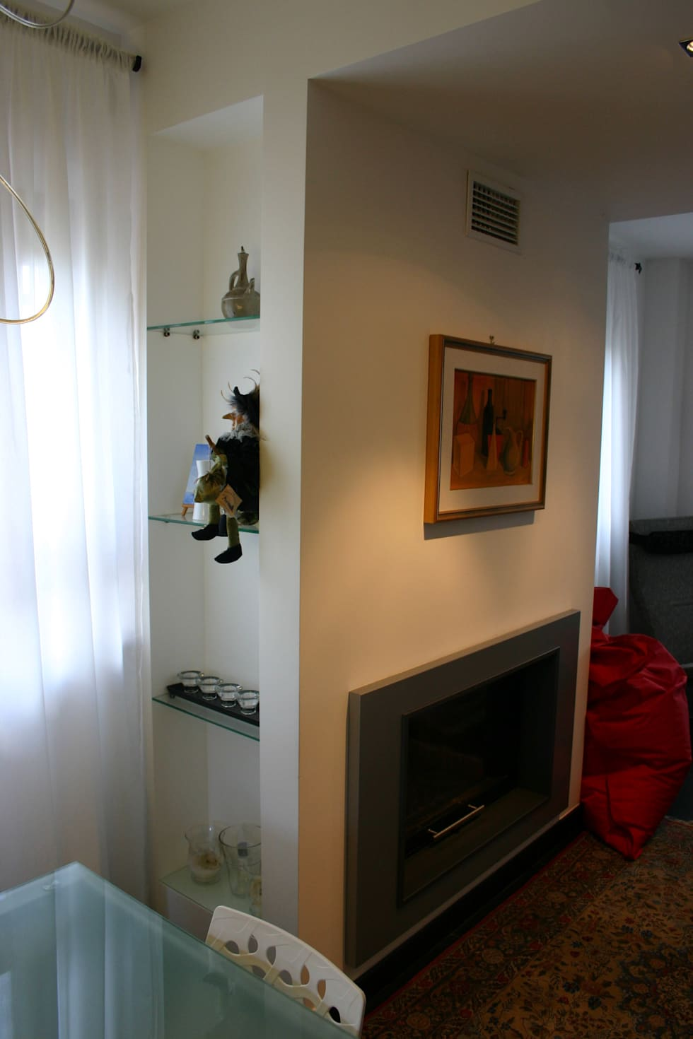 Idee arredamento casa interior design homify for Arredare nicchia soggiorno