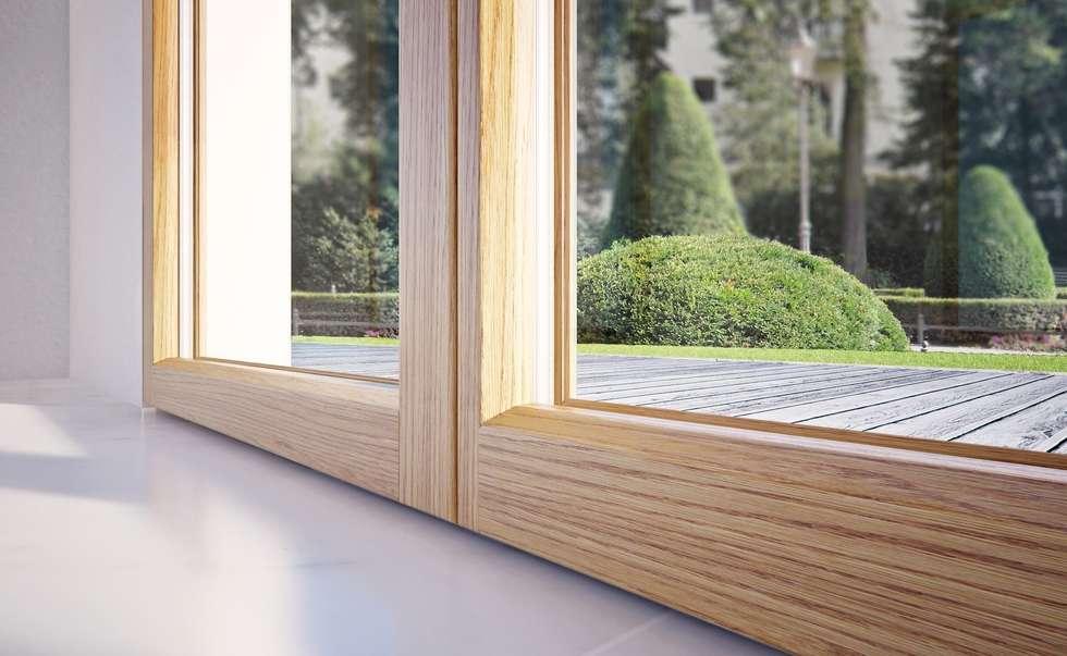 Idee arredamento casa interior design homify for Doppi infissi esterni