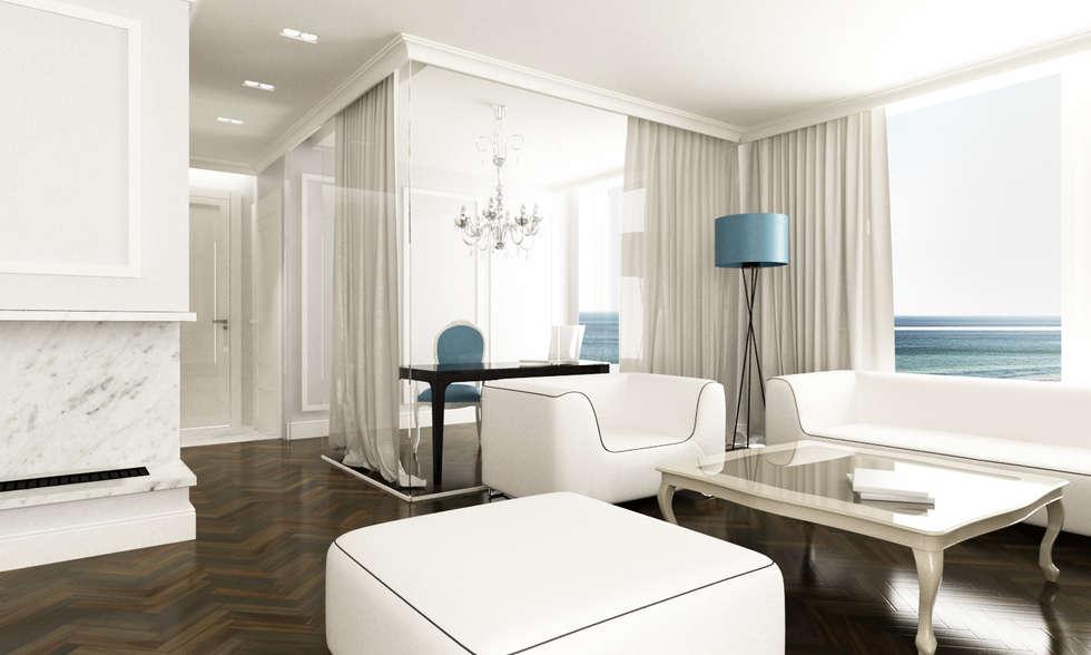 Salon : styl , w kategorii Salon zaprojektowany przez living box