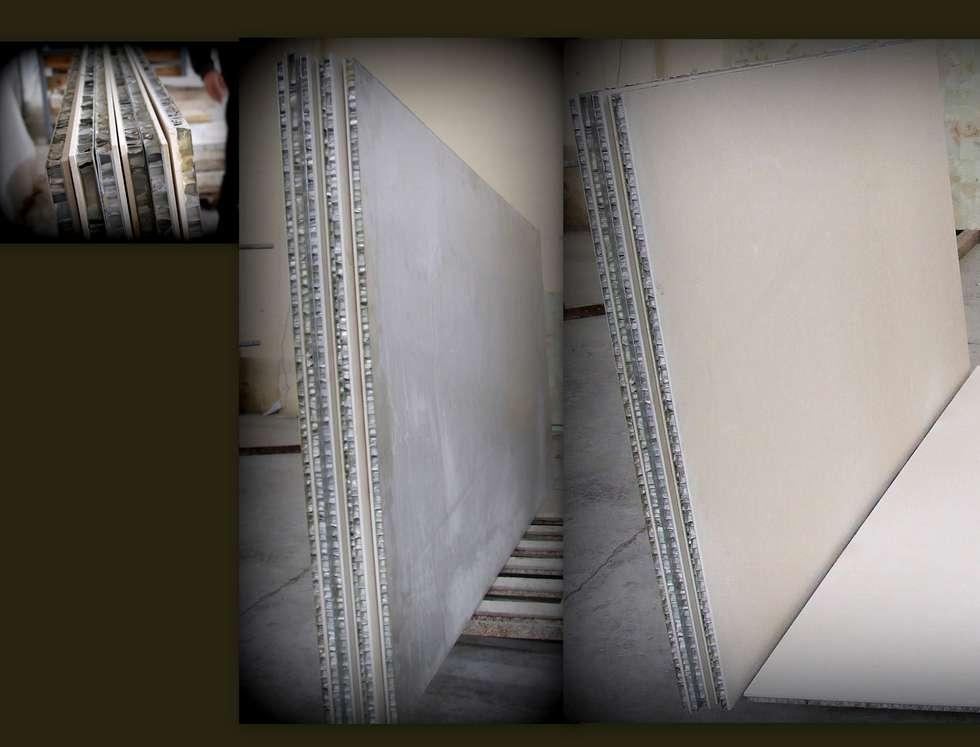 Lamina Stone / Ginşaat Madencilik – Lightweight Stone Panel with Aluminum Honeycomb:  tarz Alışveriş Merkezleri