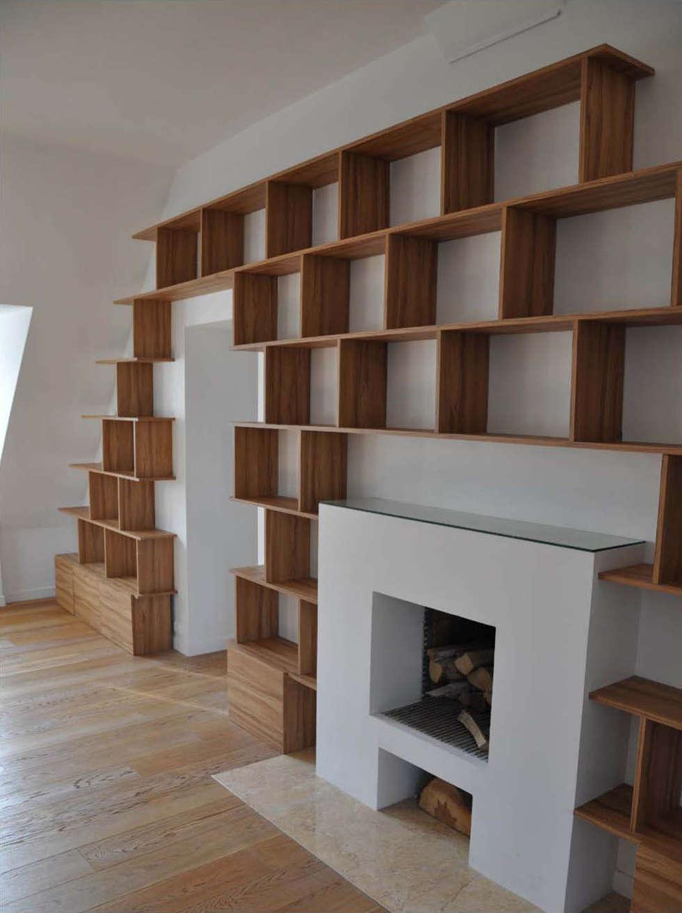 dualité de perception: Bureau de style de style Moderne par officine TNT Architecture
