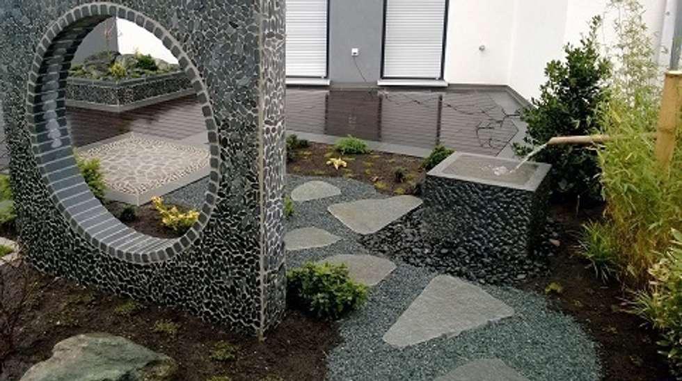 Gentil Holzterrasse, Japanischer Garten: Asiatischer Garten Von Neues Gartendesign  By Wentzel