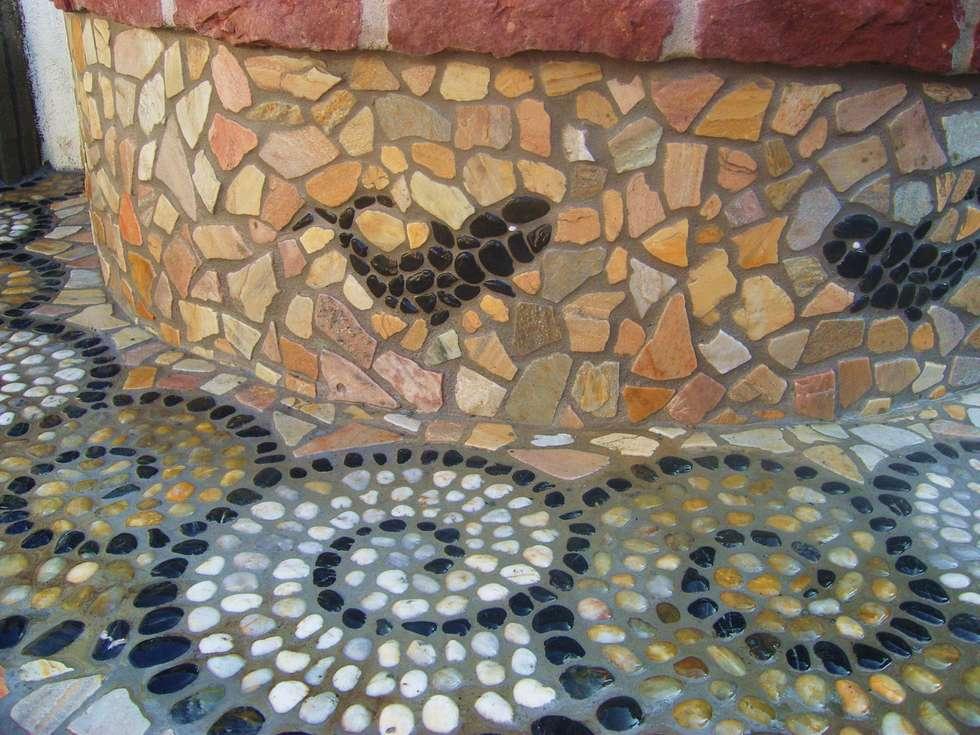 Wohnideen interior design einrichtungsideen bilder homify - Garten mosaik ...