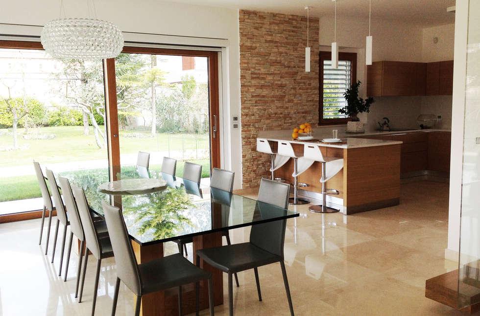 Idee arredamento casa interior design homify for Sale da pranzo moderne 12