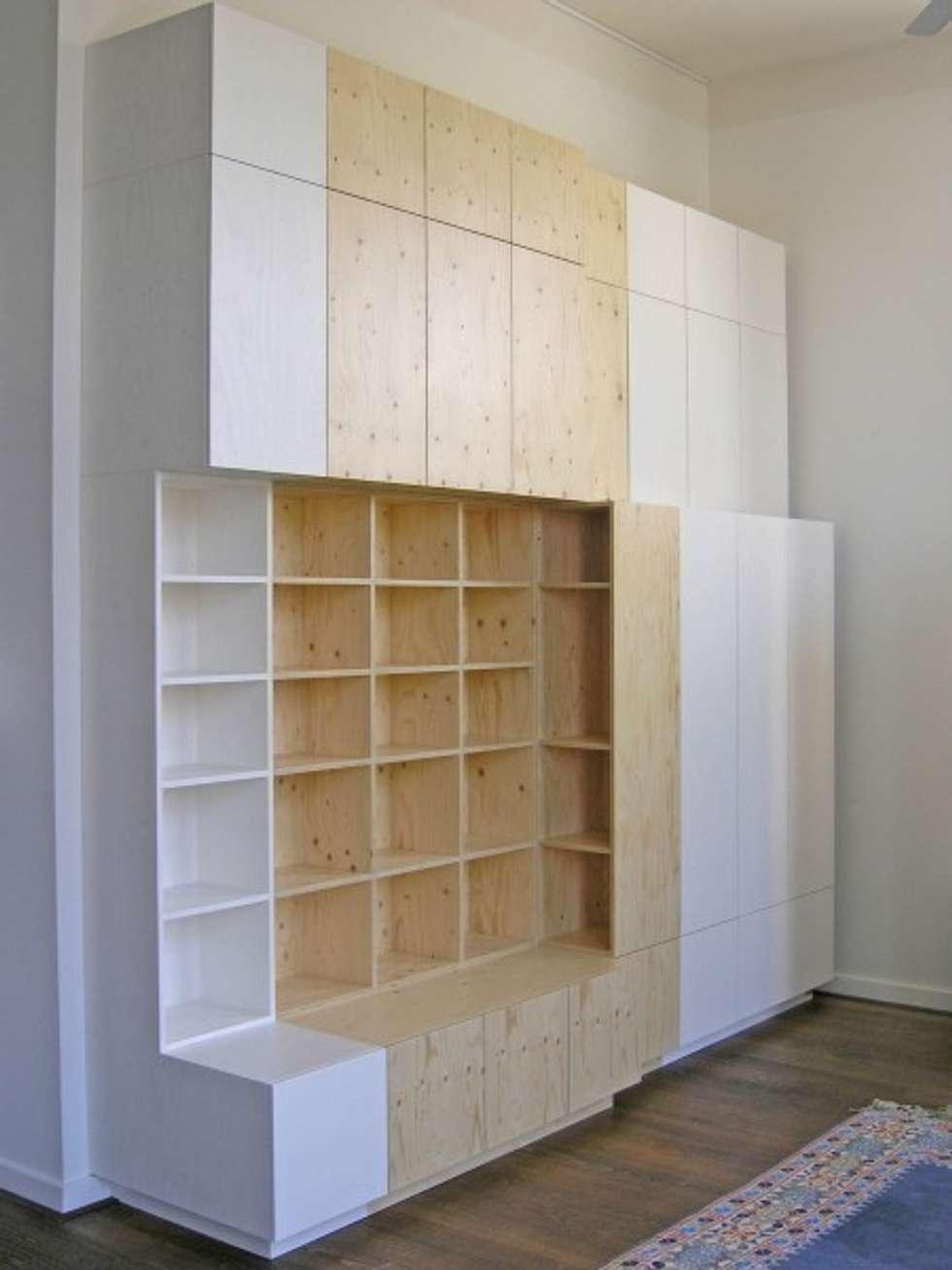 Diverse kasten in opdracht voor particulieren: moderne woonkamer ...
