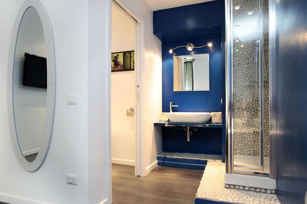 Idee arredamento casa interior design homify - Colori bagno moderno ...