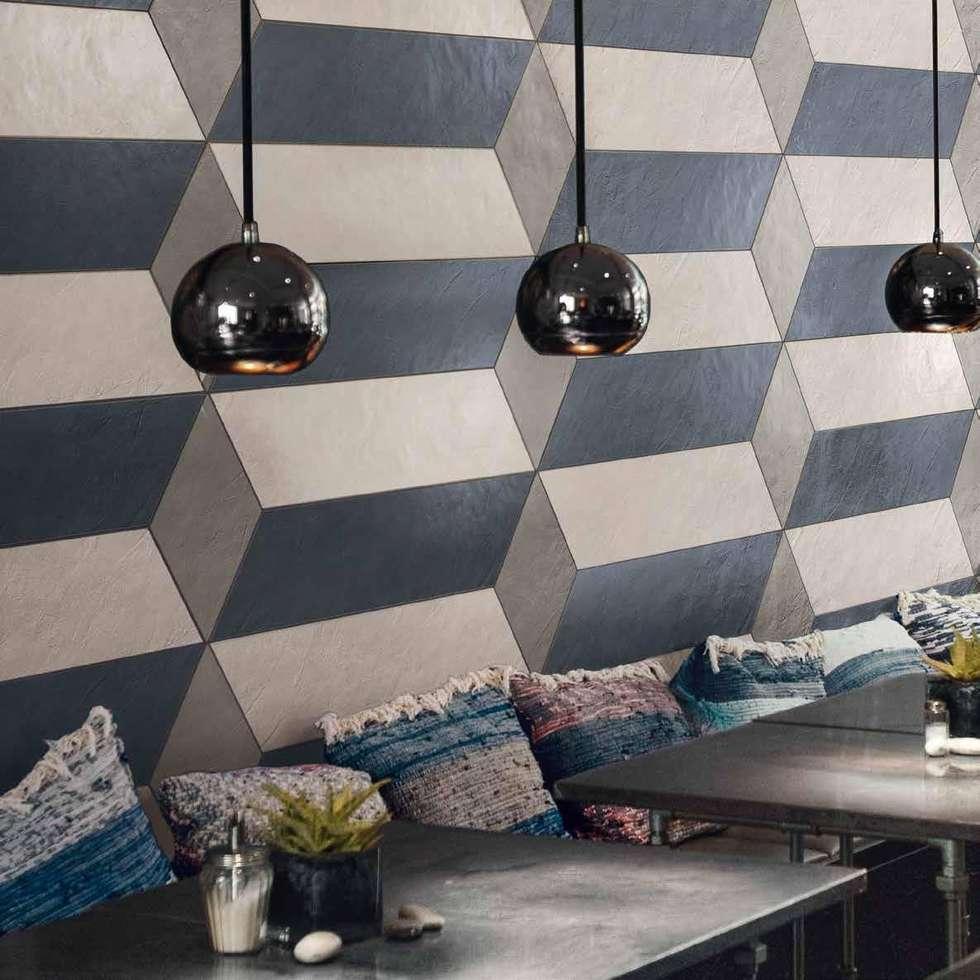 Supergres Visual Design tegels :  Gastronomie door Badkamer & Tegels magazine