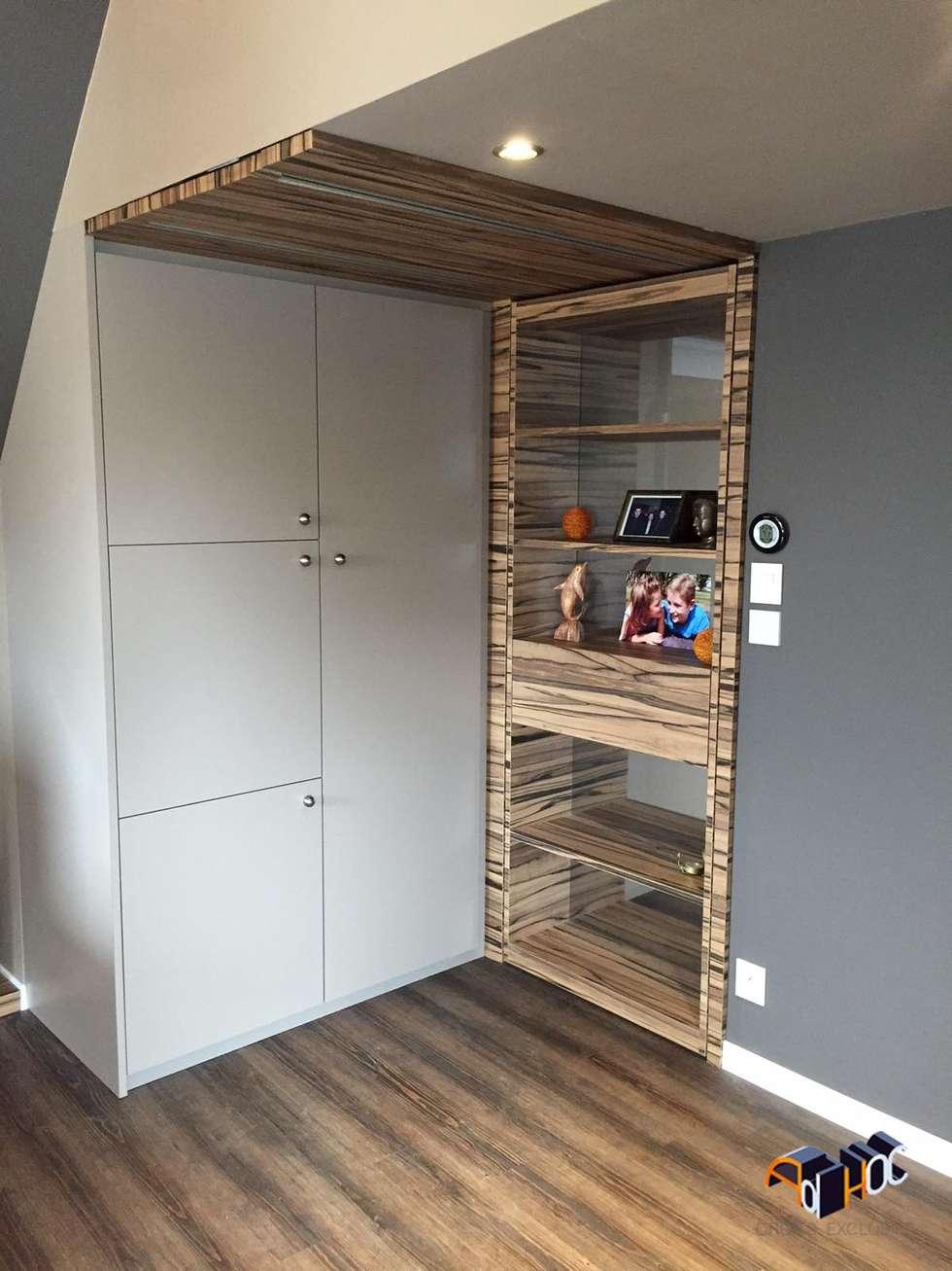Architecture intérieur Brest - Rénovation d'une chambre: Chambre de style de style Moderne par Ad Hoc Concept architecture