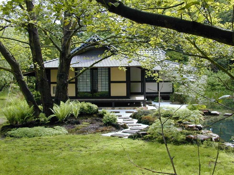 Die gärten des zen-klosters liebenau: asiatische häuser von japan ...