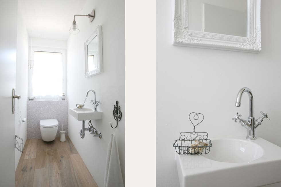 landhausstil badezimmer bilder dfh w ngi homify. Black Bedroom Furniture Sets. Home Design Ideas