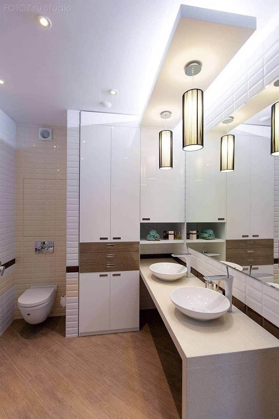 Ванная комната: Ванные комнаты в . Автор – INTERIOR PROJECT studio