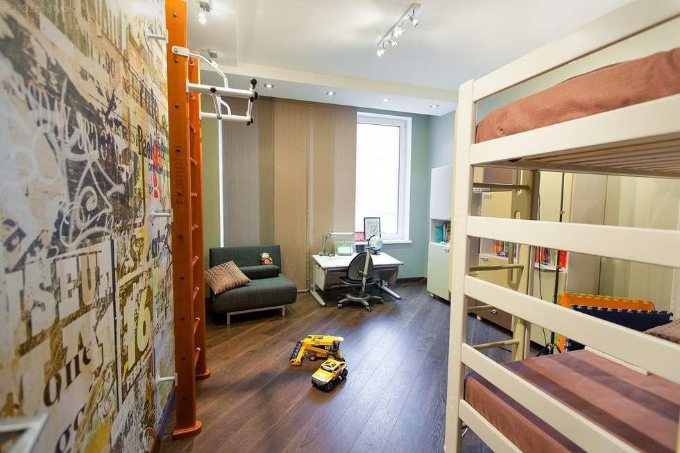 Детская комната.: Детские комнаты в . Автор – INTERIOR PROJECT studio