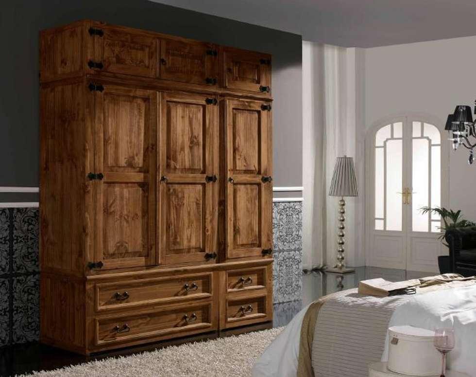 Muebles estilo rustico mueble tv rustico modular with - Muebles estilo rustico moderno ...