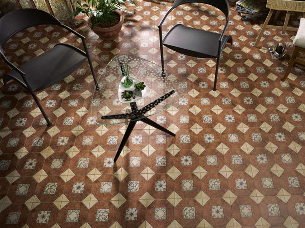 azulejos rsticos paredes y suelos de estilo rstico de