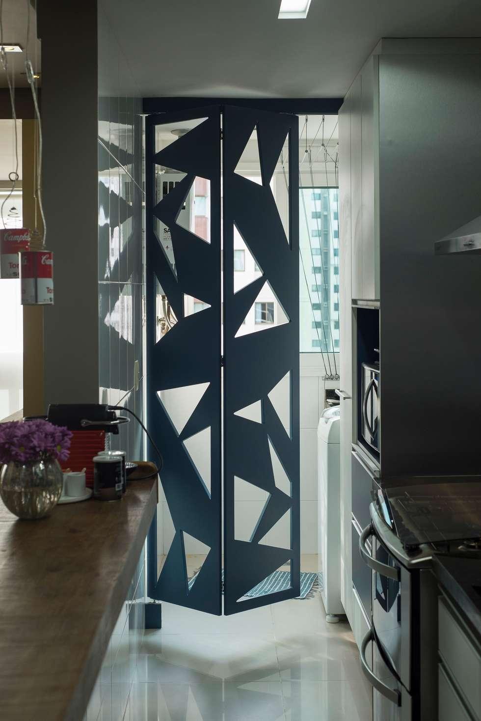 Fotos De Decora O Design De Interiores E Reformas Homify ~ Porta Sanfonada Para Cozinha