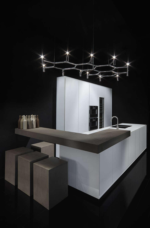 One - Corian Kitchen: Cucina in stile in stile Moderno di Ri.fra mobili s.r.l.