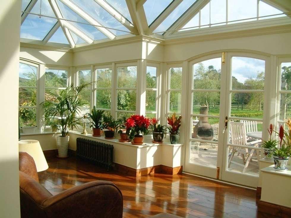 Hampton Windows: klasik tarz tarz Kış Bahçesi