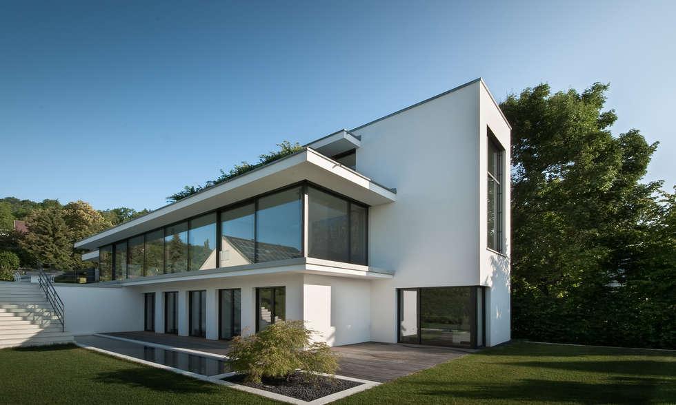 Wohnideen interior design einrichtungsideen bilder for Modernes haus gezeichnet