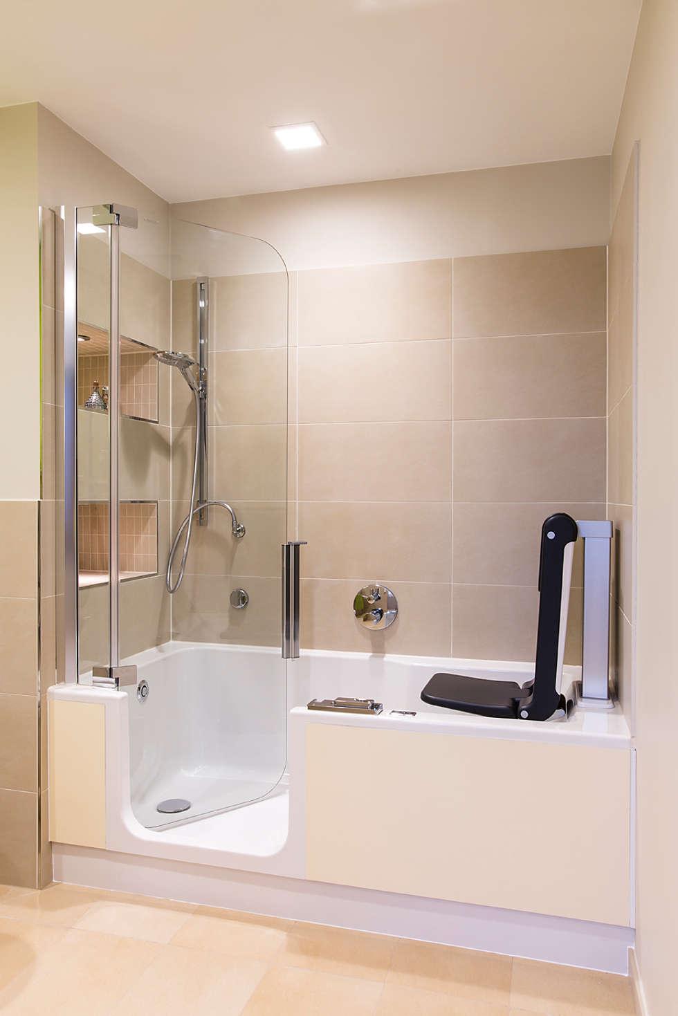 Barrierefreie Badewanne wohnideen interior design einrichtungsideen bilder homify