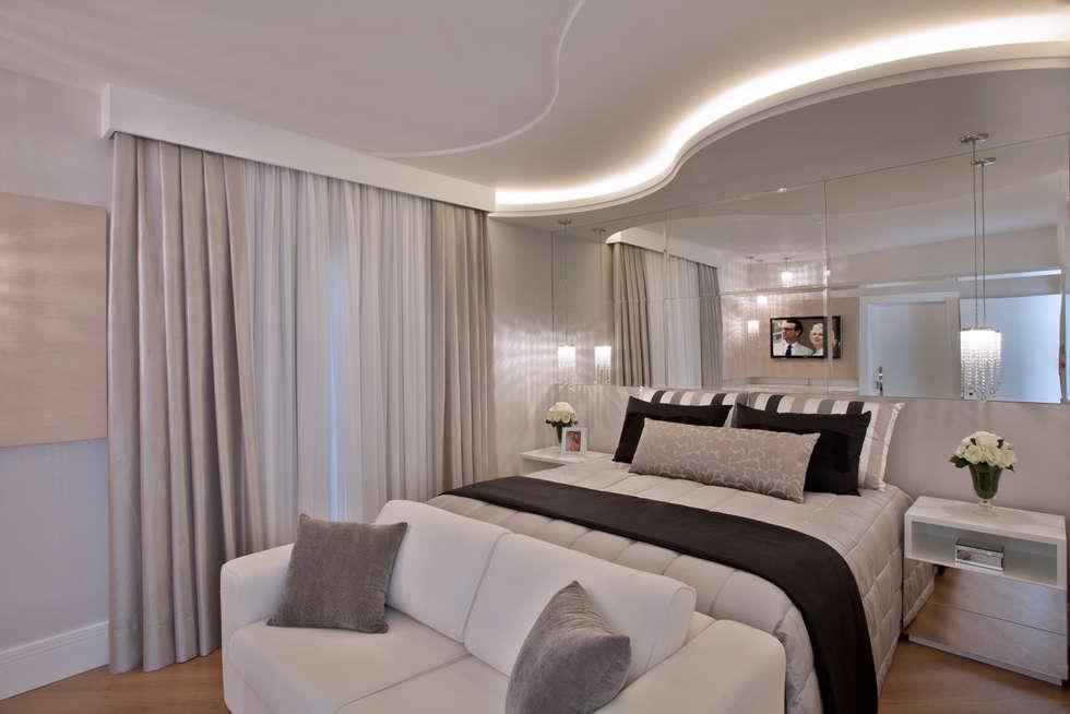moderne Schlafzimmer von Designer de Interiores e Paisagista Iara Kílaris