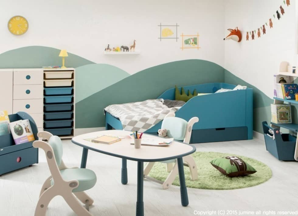 PUZZLE BEDDING: jumine의  침실