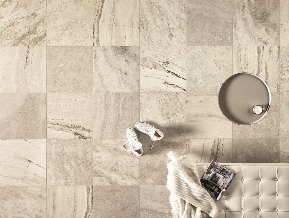Astor - Travert:  Muren & vloeren door Spadon Tegelprojecten