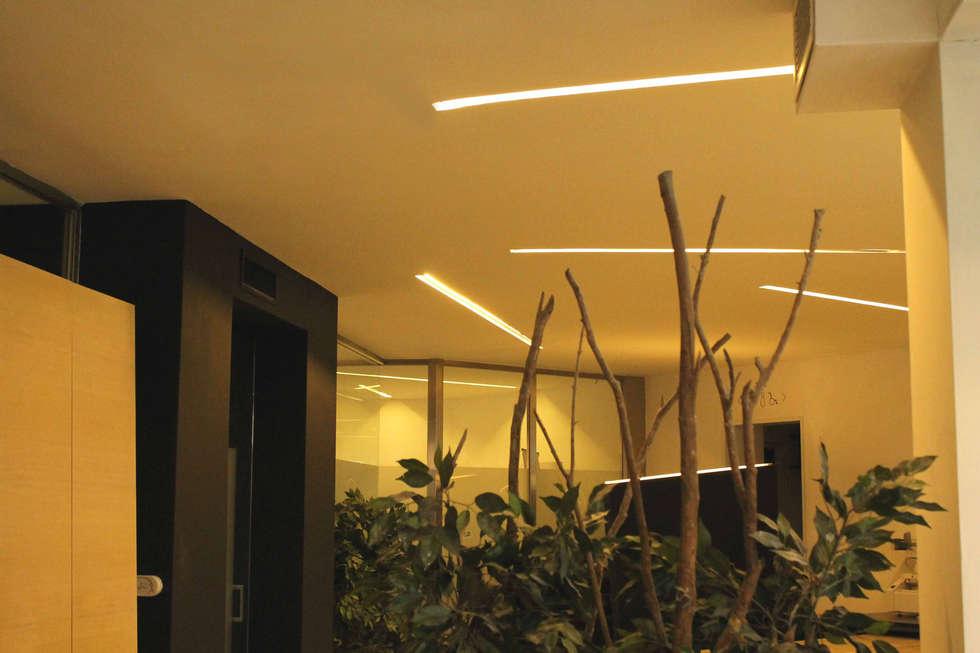 area coworkers: Complessi per uffici in stile  di LUCIA ESPOSITO ARCHITETTO