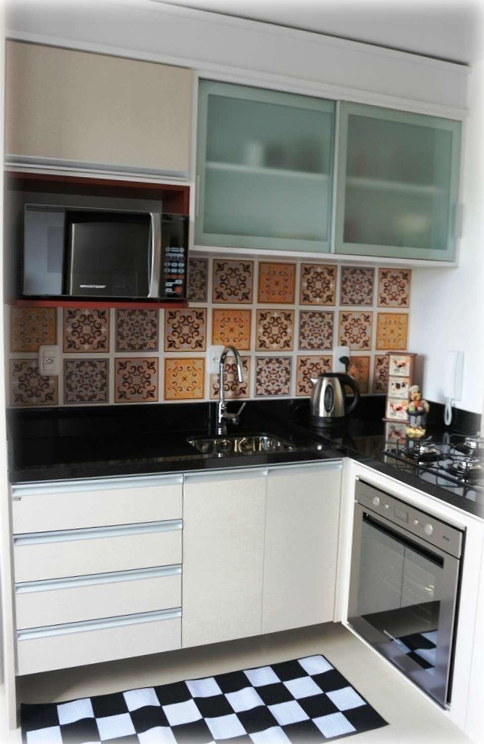 Cozinha: Cozinhas modernas por Tuti Arquitetura