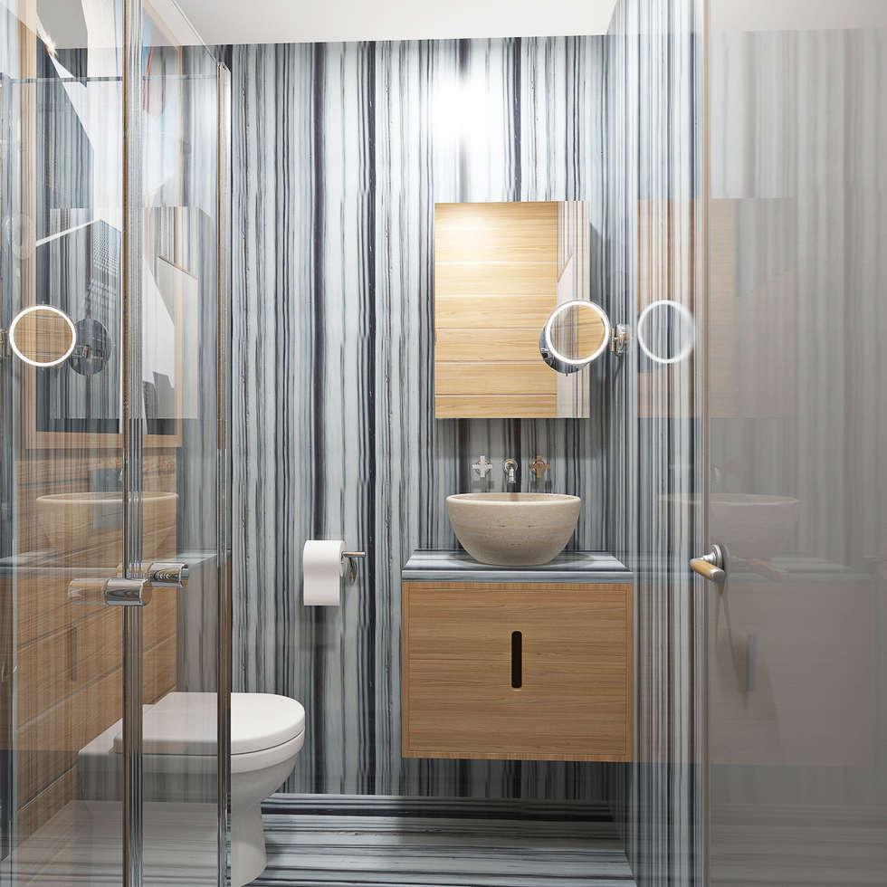 Студия. Москва: Ванные комнаты в . Автор – Roberts Design