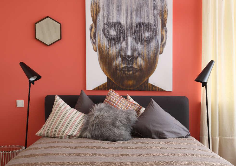 Загородный дом, Новая Рига: Спальни в . Автор – Roberts Design