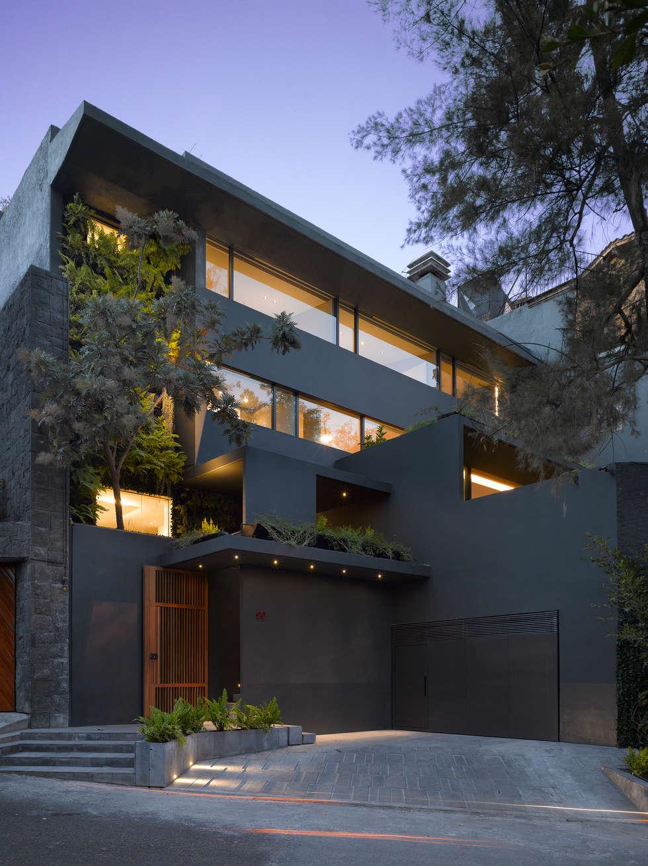 Casa barrancas casas de estilo moderno por ezequiel for Immagini design casa