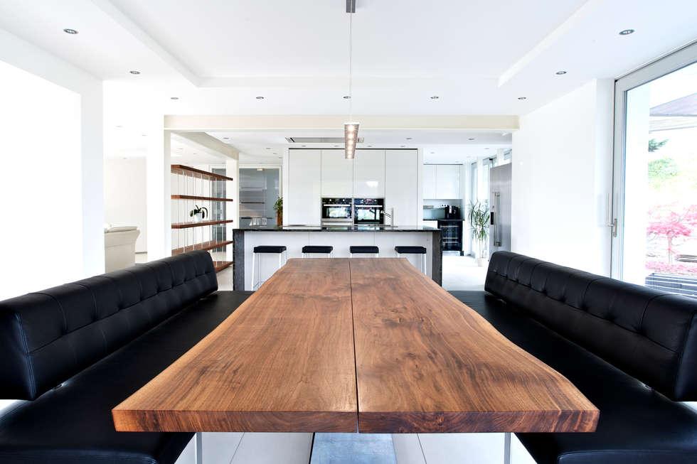 Wohnideen interior design einrichtungsideen bilder for Design massivholztisch