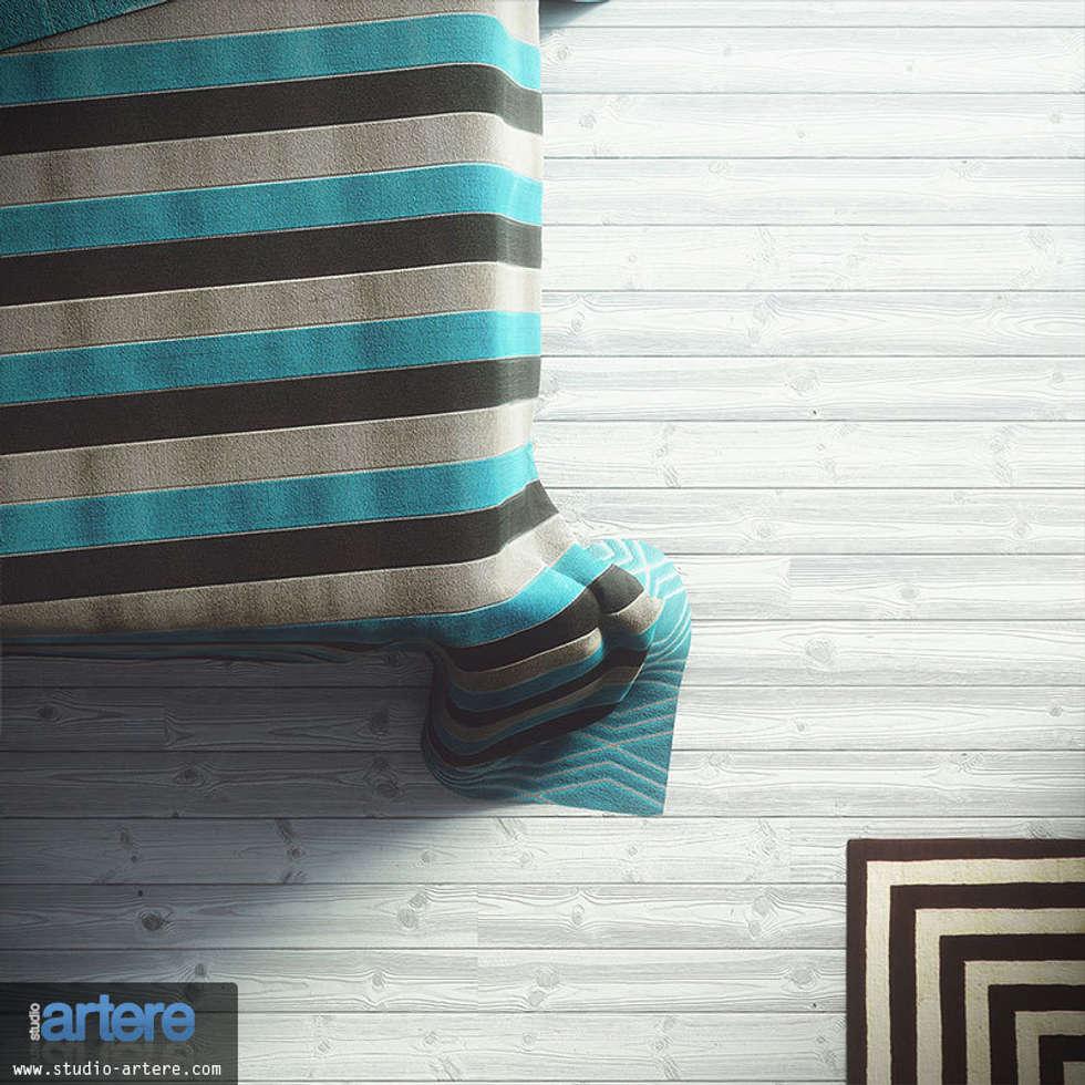 Modern Blue vue 6: Chambre de style de style Moderne par Studio Artere