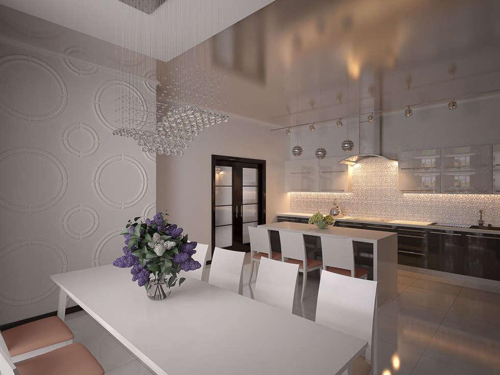 дизайн интерьера: Кухни в . Автор – КМВдизайн