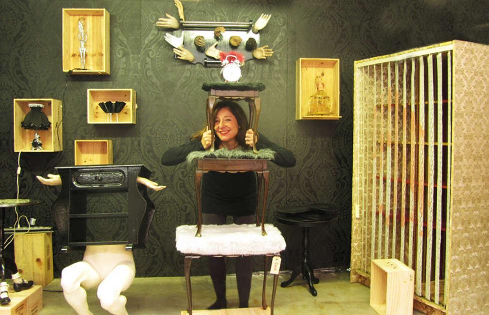 Open atelier Cucú design, Amsterdam:  Exhibitieruimten door Cucú