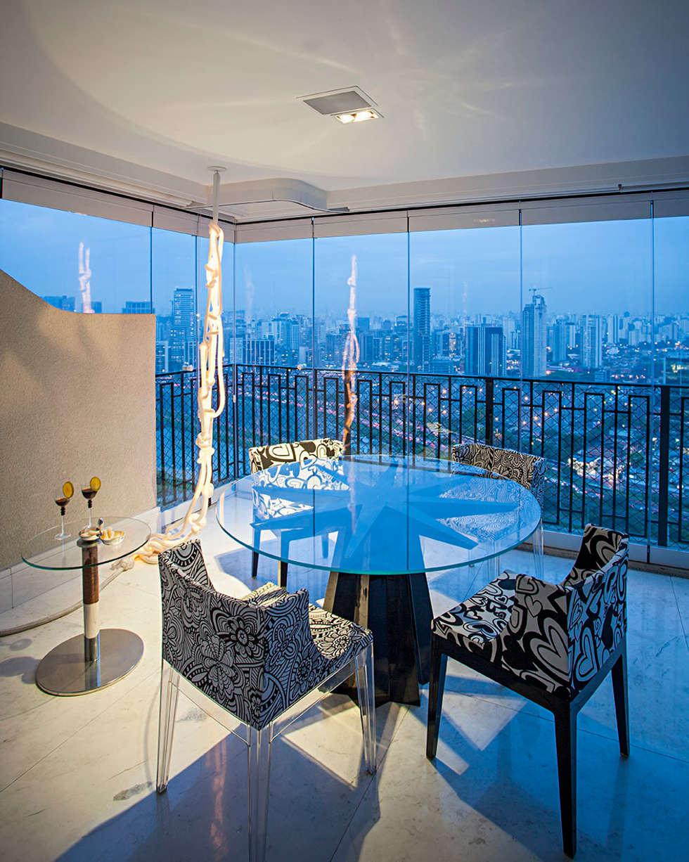 terraço: Terraços  por korman arquitetos