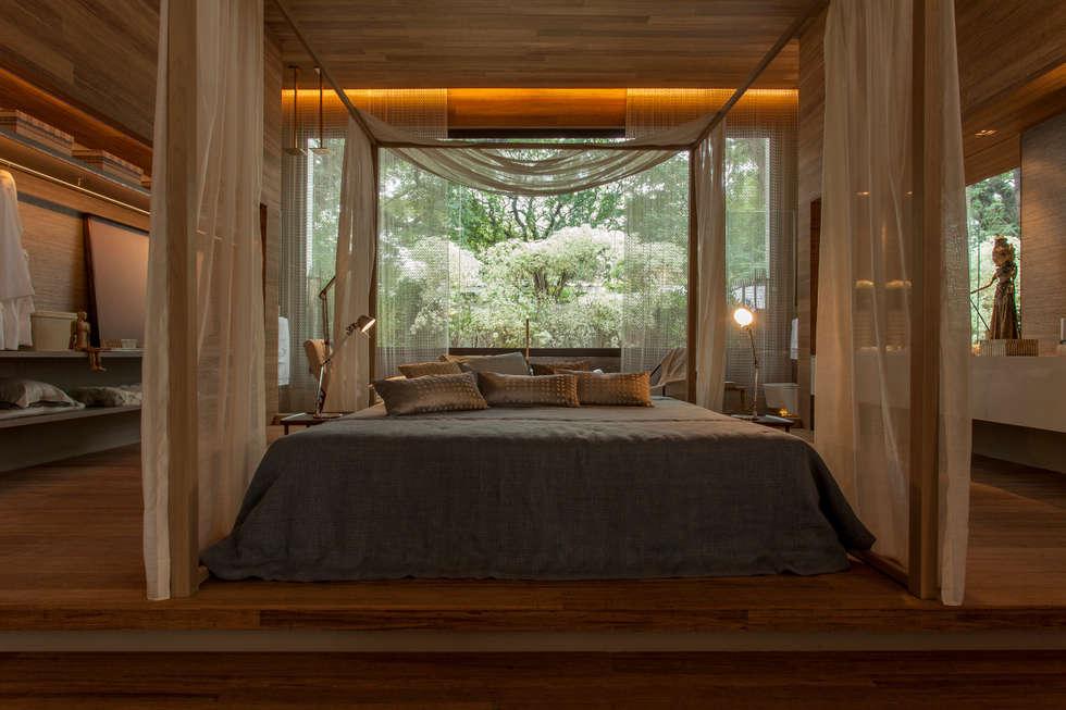 moderne Schlafzimmer von Denise Barretto Arquitetura