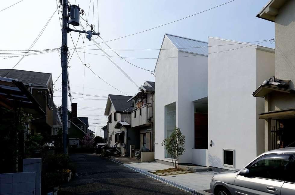永楽荘の家 - House of Eirakusou: 林泰介建築研究所が手掛けた家です。