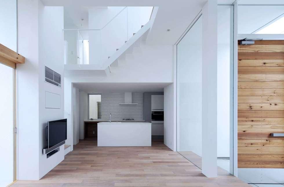 永楽荘の家 - House of Eirakusou: 林泰介建築研究所が手掛けたキッチンです。