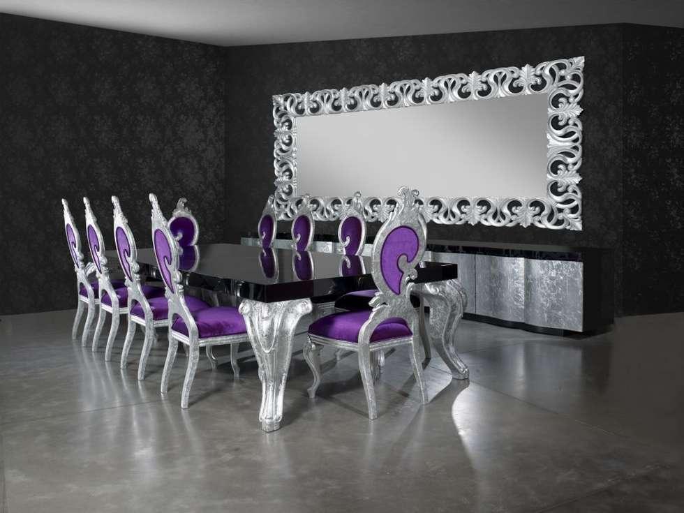 Bosart Mobilya Sanayi Ve Ticaret Ltd. Şti. – Santo yemek odası: modern tarz Yemek Odası