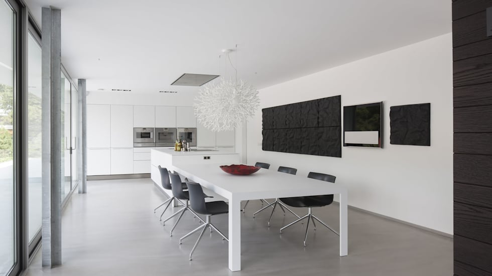 Cucina in stile in stile Moderno di Lab32 architecten