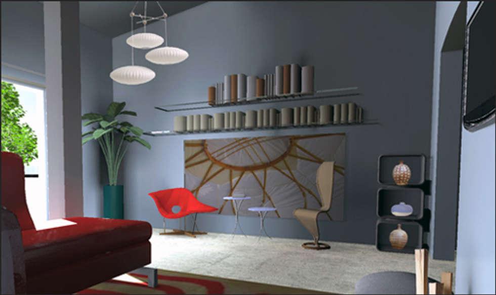 Salon moderne: Salon de style de style Moderne par IDare D.SIGNS