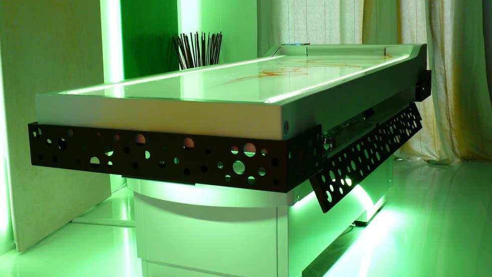 LYMPHA: Spa in stile in stile Moderno di Studio Stefano Pediconi