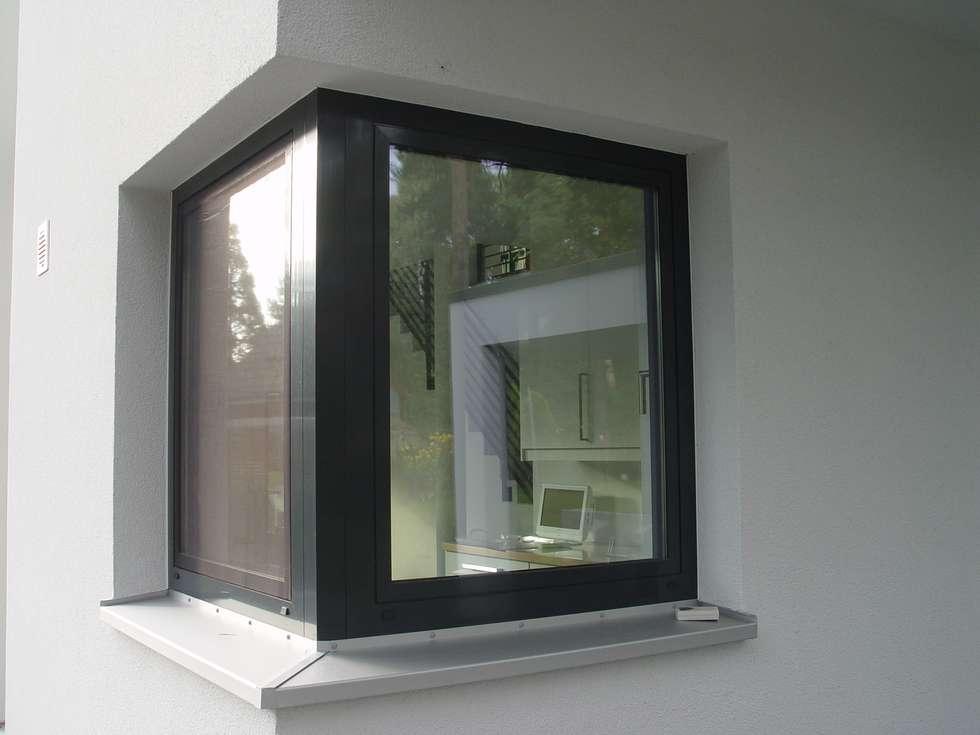 eckfenster im eg fenster von schlasserhaus massivbau gmbh archicad 17