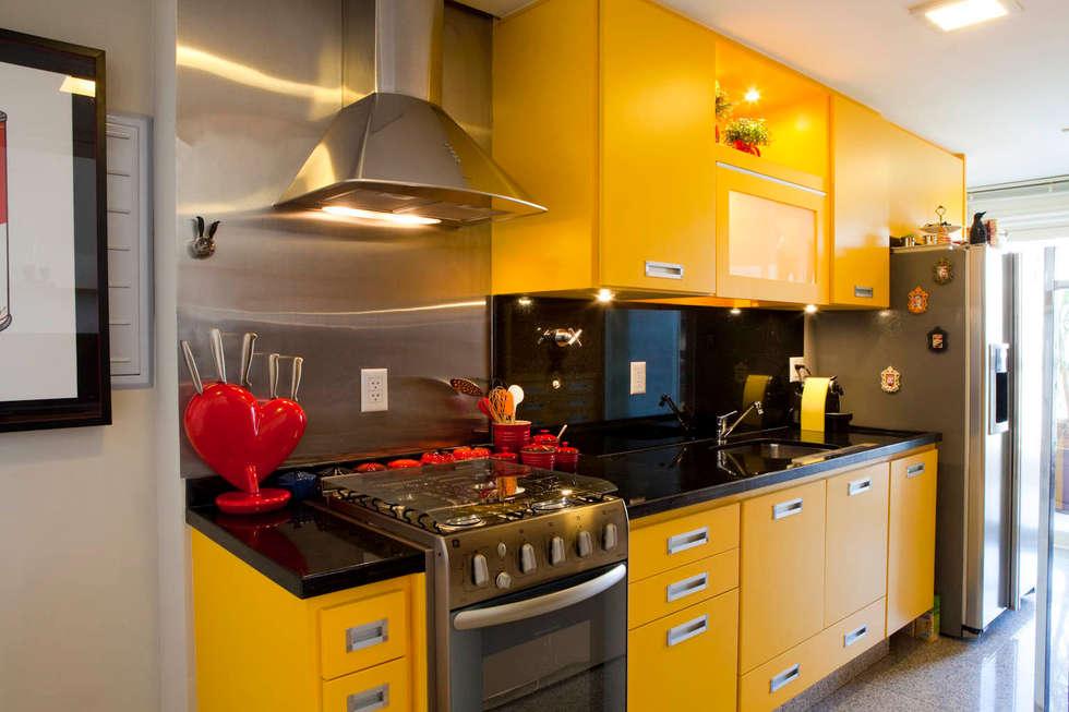moderne Keuken door Asenne Arquitetura