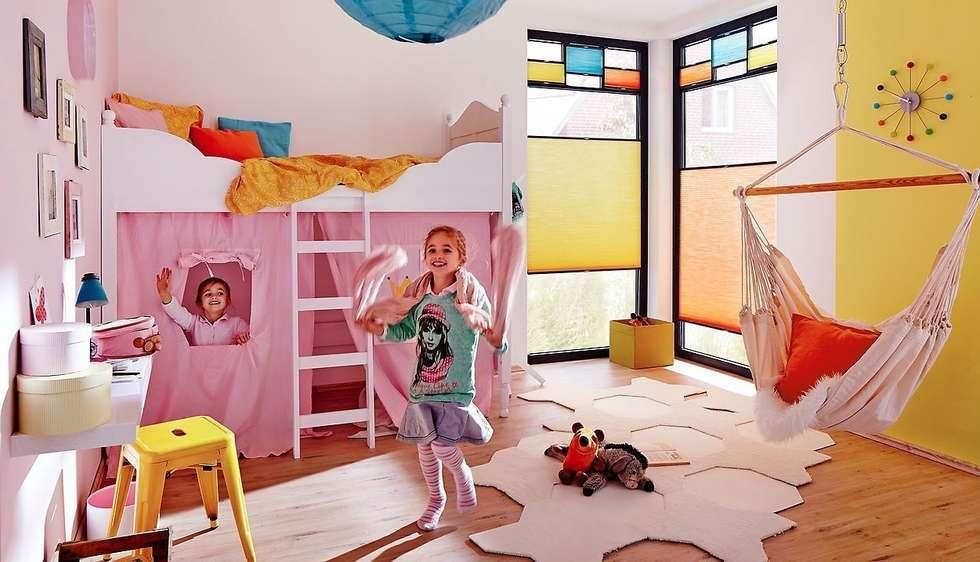 Idee arredamento casa interior design homify for Tende per camerette