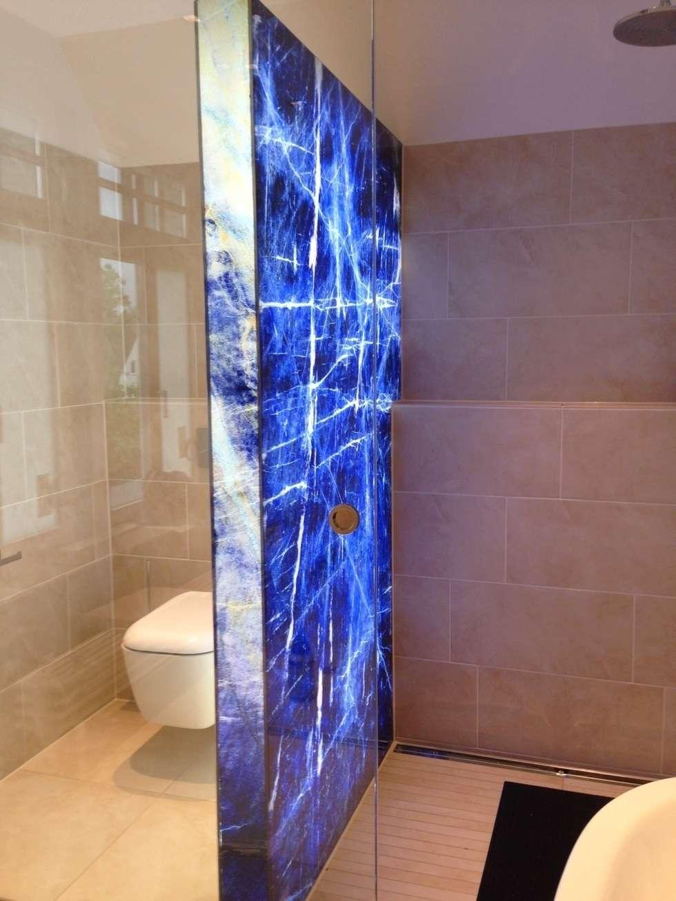 Badezimmer Trennwand - Design